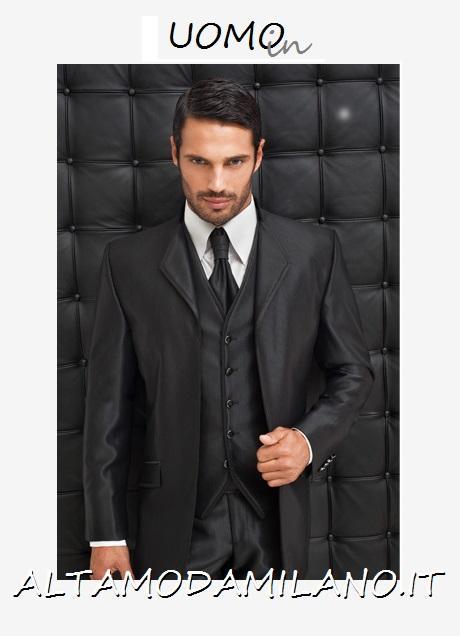 Abiti sposo ALTAMODAMILANO.IT vestiti da cerimonia uomo elegante ... b67044eddad
