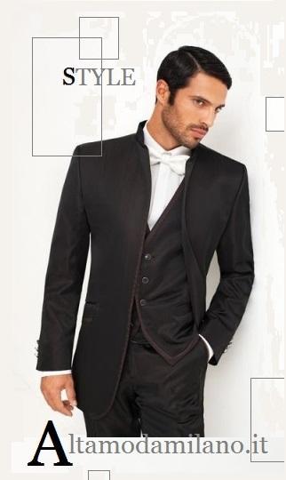 Smoking coreano mezzo tight frac STILE tutto italiano per gli abiti da sposo  ALTAMODAMILANO.IT 8556b7943b0